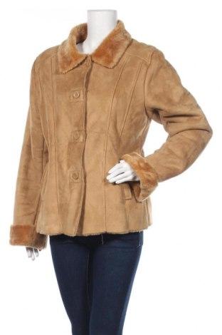 Дамско палто Gipsy, Размер XL, Цвят Бежов, Полиестер, Цена 24,15лв.