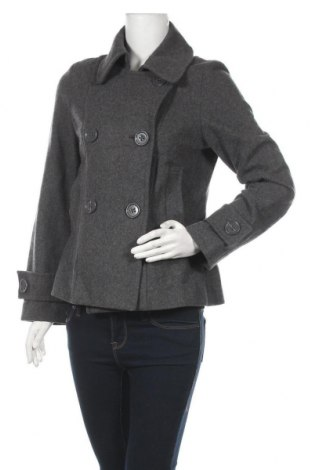 Дамско палто H&M, Размер M, Цвят Сив, Цена 57,12лв.