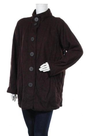 Дамско палто Jones New York, Размер XXL, Цвят Кафяв, 79% вълна, 21% полиамид, Цена 26,78лв.