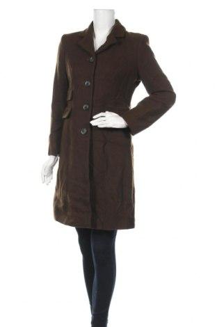 Дамско палто Mexx, Размер S, Цвят Зелен, Вълна, полиамид, кашмир, Цена 22,68лв.