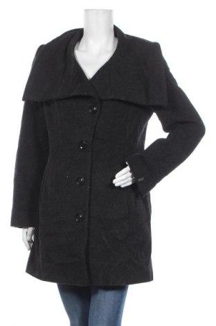 Дамско палто Milo, Размер M, Цвят Черен, 55% вълна, 20% полиамид, 25% мохер, Цена 16,28лв.