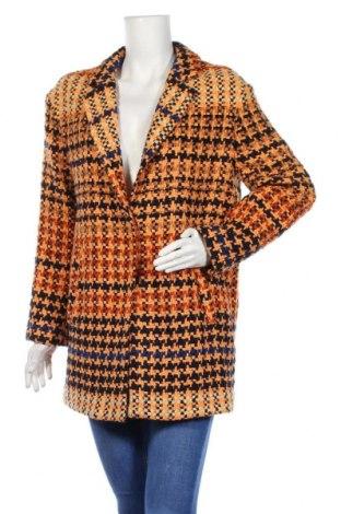 Дамско палто Patrizia Pepe, Размер M, Цвят Многоцветен, 75% вълна, 20% полиамид, 5% други тъкани, Цена 186,75лв.