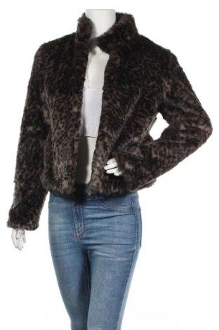 Дамско палто Pimkie, Размер L, Цвят Черен, 81% акрил, 19% полиестер, Цена 45,57лв.