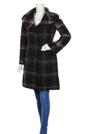 Дамско палто Rinascimento, Размер L, Цвят Кафяв, 60% вълна, 30% полиестер, 10% полиамид, Цена 50,46лв.