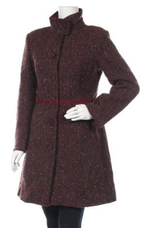 Дамско палто Tatuum, Размер M, Цвят Червен, 80% вълна, 15% полиестер, 5% вискоза, Цена 51,87лв.