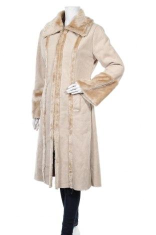 Дамско палто Clockhouse, Размер L, Цвят Бежов, Полиестер, Цена 30,61лв.