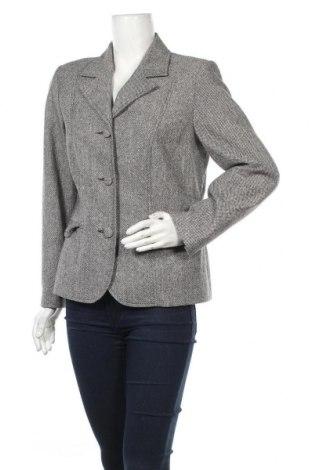 Дамско сако, Размер L, Цвят Сив, 49% вълна, 29% полиестер, 20% памук, 2% еластан, Цена 24,57лв.