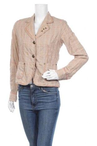Γυναικείο σακάκι Ashley Brooke, Μέγεθος M, Χρώμα  Μπέζ, 98% βαμβάκι, 2% πολυαμίδη, Τιμή 5,00€