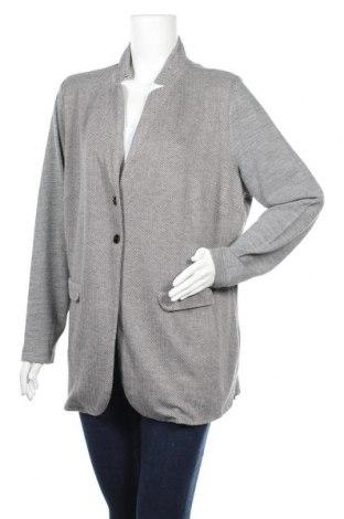 Γυναικείο σακάκι B.C. Best Connections, Μέγεθος XXL, Χρώμα Γκρί, Πολυεστέρας, βισκόζη,ακρυλικό, ελαστάνη, Τιμή 8,19€