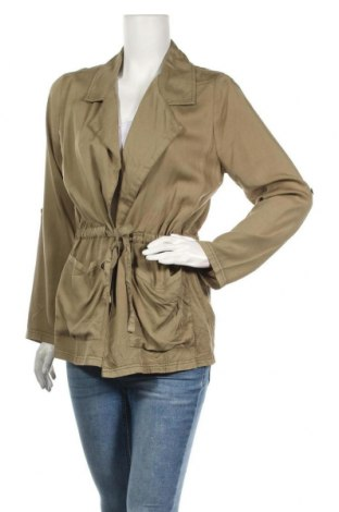 Дамско яке Cotton On, Размер M, Цвят Зелен, Лиосел, Цена 23,52лв.