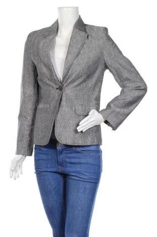 Γυναικείο σακάκι For Women, Μέγεθος M, Χρώμα Γκρί, 55% λινό, 45% βαμβάκι, Τιμή 10,07€