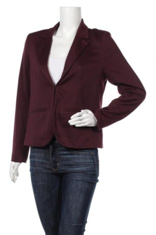 Дамско сако Hot Options, Размер M, Цвят Червен, Полиестер, еластан, Цена 3,00лв.