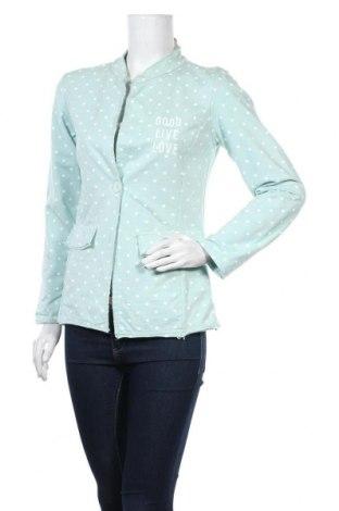 Дамско сако Lindsay Moda, Размер M, Цвят Син, 95% памук, 5% еластан, Цена 17,85лв.
