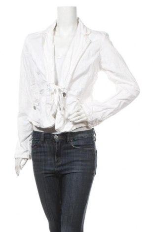 Дамско сако Mexx, Размер M, Цвят Бял, Памук, Цена 5,67лв.