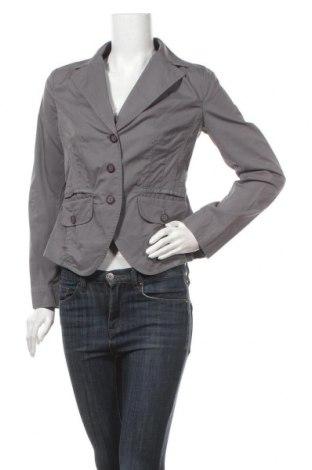 Γυναικείο σακάκι Modeva, Μέγεθος M, Χρώμα Γκρί, 71% βαμβάκι, 26% πολυαμίδη, 3% ελαστάνη, Τιμή 6,37€