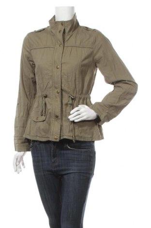 Дамско яке, Размер M, Цвят Зелен, 63% памук, 37% вискоза, Цена 9,19лв.