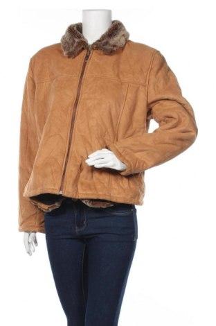 Дамско яке, Размер XL, Цвят Оранжев, Цена 18,11лв.