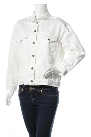 Γυναικείο μπουφάν Club Monaco, Μέγεθος S, Χρώμα Λευκό, Βαμβάκι, Τιμή 26,88€