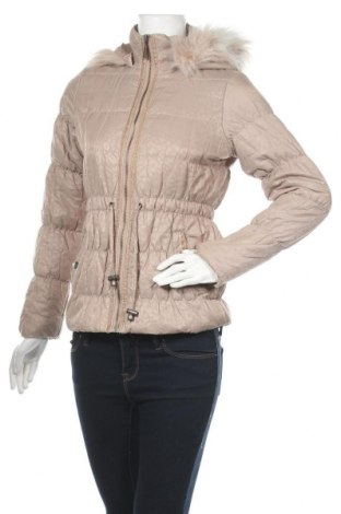 Γυναικείο μπουφάν Lipsy London, Μέγεθος S, Χρώμα  Μπέζ, 50% βαμβάκι, 44% πολυαμίδη, 6% μέταλλο, Τιμή 15,00€