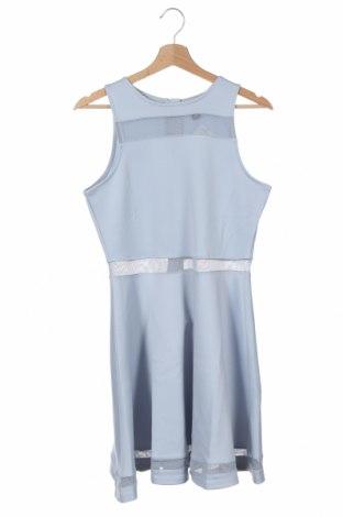 Παιδικό φόρεμα New Look, Μέγεθος 13-14y/ 164-168 εκ., Χρώμα Μπλέ, 96% πολυεστέρας, 4% ελαστάνη, Τιμή 17,42€