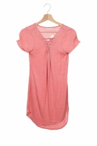 Детска туника Heart Hips, Размер 12-13y/ 158-164 см, Цвят Розов, 76% вискоза, 21% полиестер, 3% еластан, Цена 6,01лв.