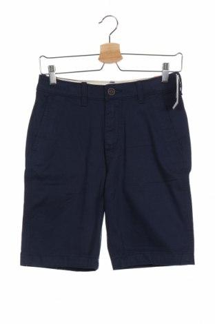 Παιδικό κοντό παντελόνι Abercrombie Kids, Μέγεθος 13-14y/ 164-168 εκ., Χρώμα Μπλέ, 97% βαμβάκι, 3% ελαστάνη, Τιμή 18,44€