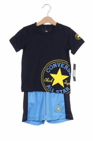 Παιδικό σύνολο Converse, Μέγεθος 2-3y/ 98-104 εκ., Χρώμα Μπλέ, Βαμβάκι, Τιμή 25,65€