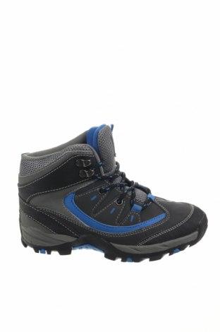 Παιδικά παπούτσια F&F, Μέγεθος 32, Χρώμα Γκρί, Δερματίνη, Τιμή 18,51€