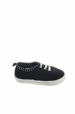 Παιδικά παπούτσια Garanimals, Μέγεθος 21, Χρώμα Μαύρο, Κλωστοϋφαντουργικά προϊόντα, Τιμή 5,72€