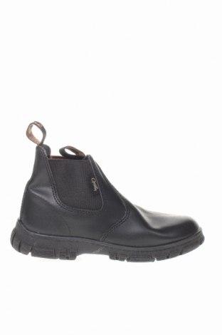 Παιδικά παπούτσια Grosby, Μέγεθος 27, Χρώμα Μαύρο, Γνήσιο δέρμα, Τιμή 15,20€