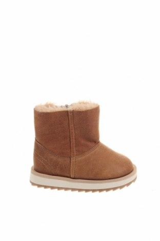 Παιδικά παπούτσια Zara Kids, Μέγεθος 18, Χρώμα Καφέ, Δερματίνη, Τιμή 19,49€