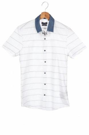 Мъжка риза Antony Morato, Размер S, Цвят Бял, Памук, Цена 13,65лв.