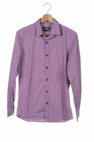 Ανδρικό πουκάμισο Connor, Μέγεθος S, Χρώμα Βιολετί, 69% βαμβάκι, 27% πολυεστέρας, 4% ελαστάνη, Τιμή 7,01€