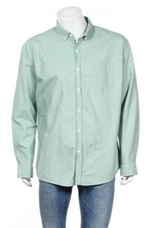 Ανδρικό πουκάμισο Connor, Μέγεθος XXL, Χρώμα Πράσινο, 100% βαμβάκι, Τιμή 11,11€