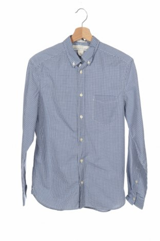 Мъжка риза H&M L.O.G.G., Размер S, Цвят Син, Памук, Цена 16,96лв.