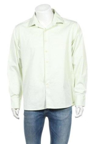 Ανδρικό πουκάμισο Ponti, Μέγεθος XXL, Χρώμα Πράσινο, 60% βαμβάκι, 40% πολυεστέρας, Τιμή 3,51€