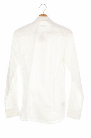 Мъжка риза United Colors Of Benetton, Размер XS, Цвят Бял, 68% памук, 28% полиамид, 4% еластан, Цена 48,00лв.