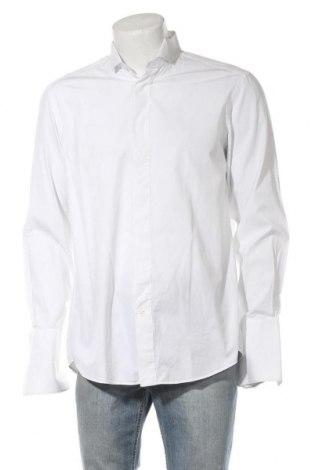 Ανδρικό πουκάμισο Van Laack, Μέγεθος L, Χρώμα Λευκό, Βαμβάκι, Τιμή 24,49€
