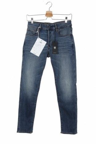 Мъжки дънки G-Star Raw, Размер XS, Цвят Син, 91% памук, 9% еластан, Цена 114,72лв.