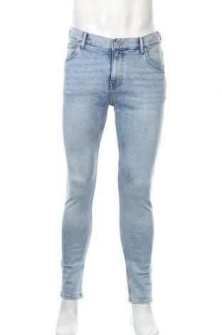 Мъжки дънки Weekday, Размер M, Цвят Син, 98% памук, 2% еластан, Цена 28,56лв.