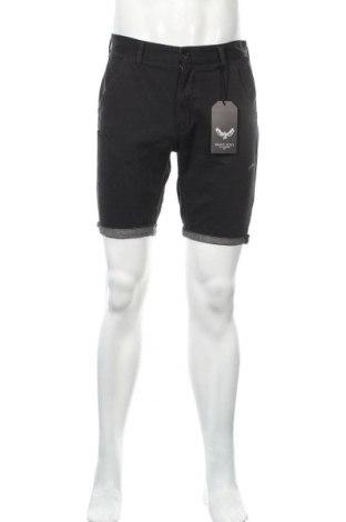 Ανδρικό κοντό παντελόνι Brave Soul, Μέγεθος M, Χρώμα Μαύρο, Βαμβάκι, Τιμή 10,20€