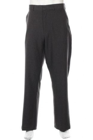 Мъжки панталон Clothing & Co, Размер XL, Цвят Сив, Полиестер, Цена 9,98лв.