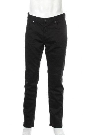 Ανδρικό παντελόνι Connor, Μέγεθος L, Χρώμα Μαύρο, 78% βαμβάκι, 20% πολυεστέρας, 2% ελαστάνη, Τιμή 11,82€
