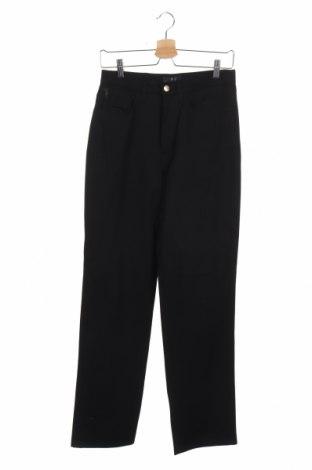 Мъжки панталон Trussardi Jeans, Размер S, Цвят Черен, 96% памук, 4% еластан, Цена 11,81лв.