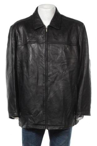 Ανδρικό δερμάτινο μπουφάν Wilsons Leather, Μέγεθος XXL, Χρώμα Μαύρο, Γνήσιο δέρμα, Τιμή 45,01€