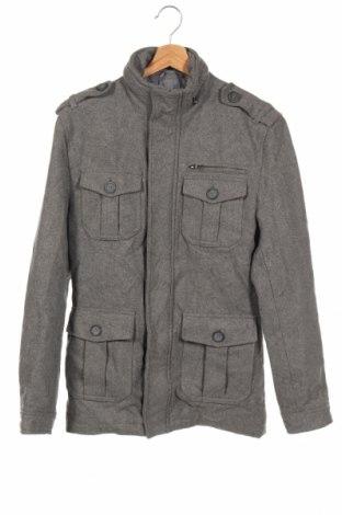 Ανδρικά παλτό Connor, Μέγεθος XS, Χρώμα Γκρί, 20% μαλλί, 80% πολυεστέρας, Τιμή 14,90€