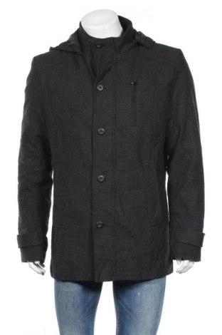 Ανδρικά παλτό Connor, Μέγεθος L, Χρώμα Γκρί, 55% βαμβάκι, 45% πολυεστέρας, Τιμή 30,39€