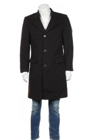 Palton de bărbați Zara Man, Mărime M, Culoare Maro, 55% lână, 32% poliester, 8% cașmir, Preț 93,50 Lei