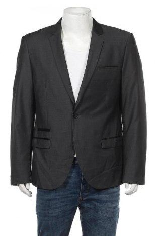 Ανδρικό σακάκι Connor, Μέγεθος L, Χρώμα Γκρί, 65% πολυεστέρας, 35% βισκόζη, Τιμή 9,10€