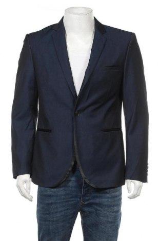 Ανδρικό σακάκι Connor, Μέγεθος S, Χρώμα Μπλέ, 80% πολυεστέρας, 20% βισκόζη, Τιμή 6,14€